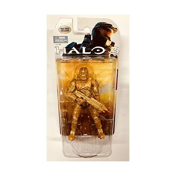 マクファーレン トイズ ヘイロー アクション フィギュア ダイキャスト McFarlane Halo 3 Gold Master Chief Limited Edition