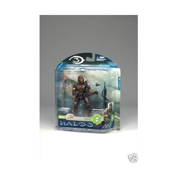 マクファーレン and トイズ ヘイロー Toys アクション フィギュア ダイキャスト Halo 3 Mcfarlane ODST Toys Series 3 Exclusive Action Figure Brown Spartan Soldier ODST (Battle Rifle and Grenade), メモリアアレカ:f1f02086 --- sunward.msk.ru