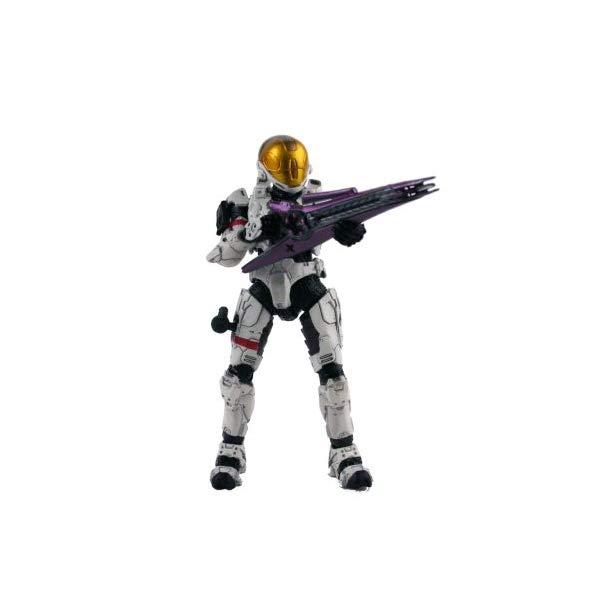 マクファーレン トイズ ヘイロー アクション フィギュア ダイキャスト Halo 3 Series 2 White Spartan Soldier (Eva Armor)