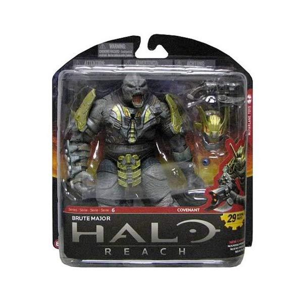 マクファーレン トイズ ヘイロー アクション フィギュア ダイキャスト McFarlane Toys Halo Reach Series 6 Brute Major Action Figure