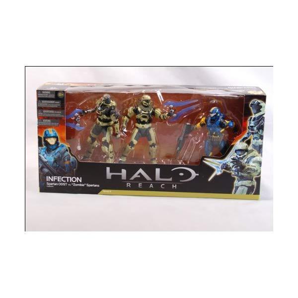 マクファーレン トイズ ヘイロー アクション フィギュア ダイキャスト Infection - Spartan ODST v Zombie Spartans - Halo Reach - Series 4 Action Figure Set 15 cm by McFarlane