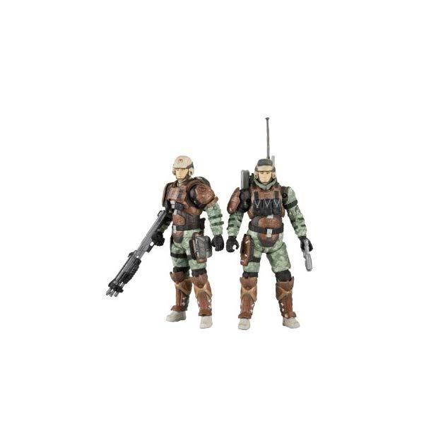 マクファーレン トイズ ヘイロー アクション フィギュア ダイキャスト McFarlane Toys Halo Reach Series 3 UNSC Trooper Support Staff - Medic Trooper And Radio Trooper 2 Pack