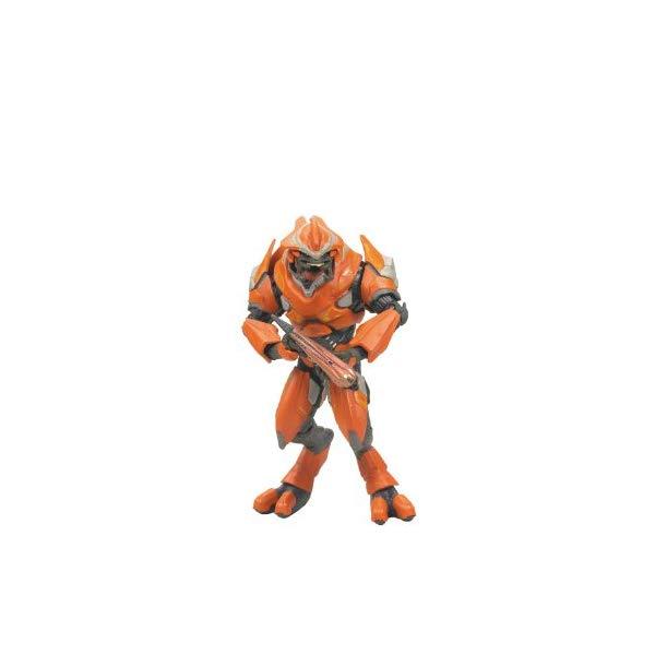 マクファーレン トイズ ヘイロー アクション フィギュア ダイキャスト McFarlane Toys Halo Reach Series 2 - Elite Officer Action Figure Red - Orange