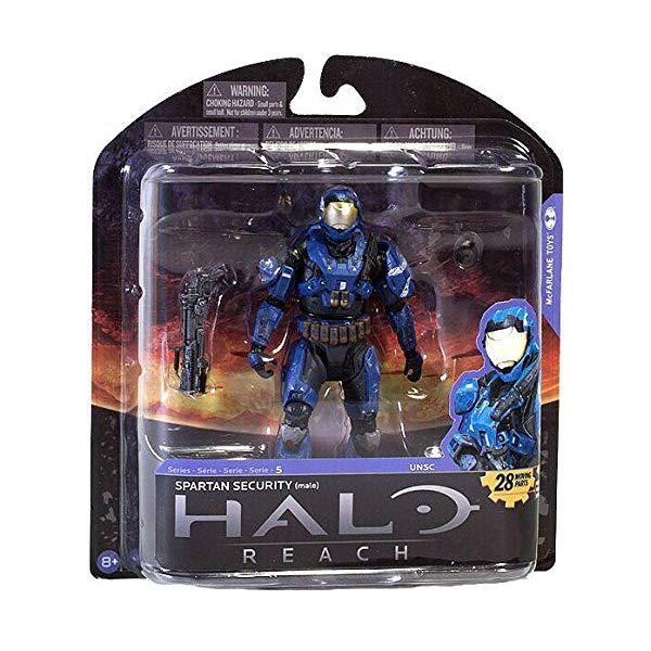 マクファーレン トイズ ヘイロー アクション フィギュア ダイキャスト McFarlane Halo Reach Series 5 Spartan Security Exclusive Action Figure [Blue]