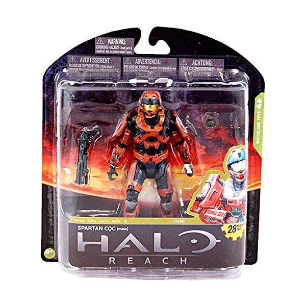 マクファーレン トイズ ヘイロー アクション フィギュア ダイキャスト McFarlane Toys Halo Reach Series 4 Spartan CQC Exclusive Action Figure [Rust]
