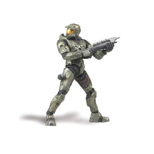 """マクファーレン トイズ ヘイロー アクション フィギュア ダイキャスト McFarlane Halo 3 Master Chief Figure, 12"""""""