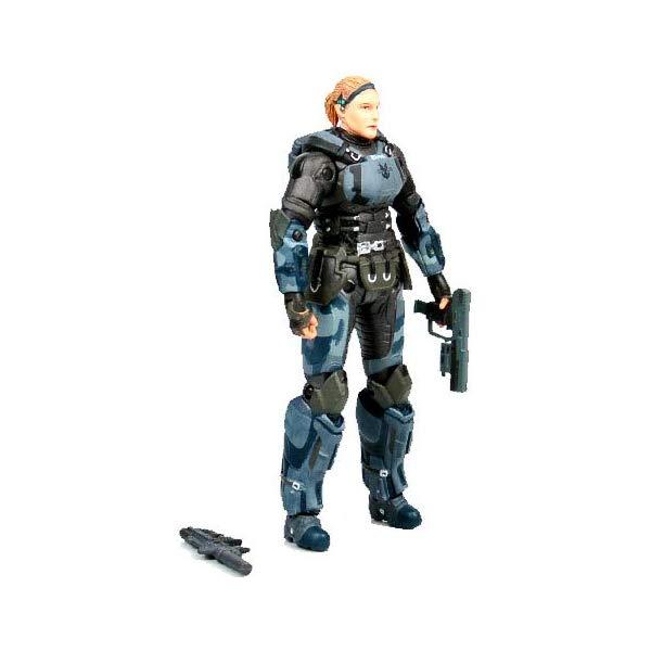マクファーレン トイズ ヘイロー アクション フィギュア ダイキャスト Halo 3 McFarlane Toys Series 8 Exclusive Action Figure ONI Operative Dare No Helmet