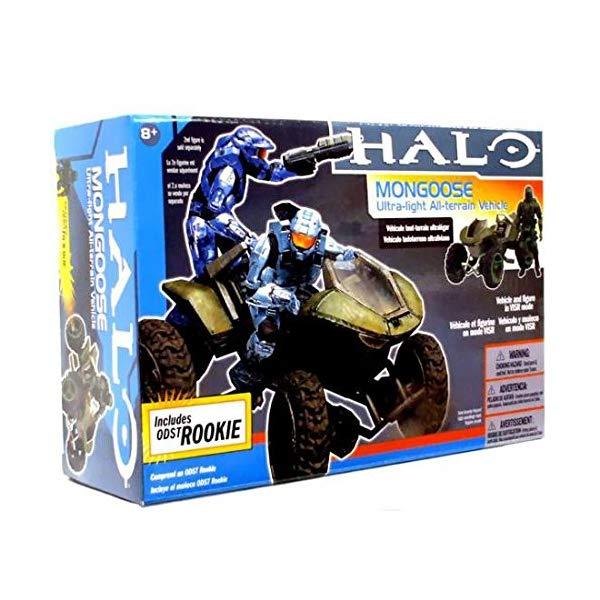 マクファーレン トイズ ヘイロー アクション フィギュア ダイキャスト Halo: Mongoose ATV with ODST Rookie