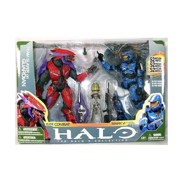マクファーレン トイズ ヘイロー アクション フィギュア ダイキャスト Halo 3 Collection Elite Combat and Mark VI Spartan Soldier Action Figure Pack