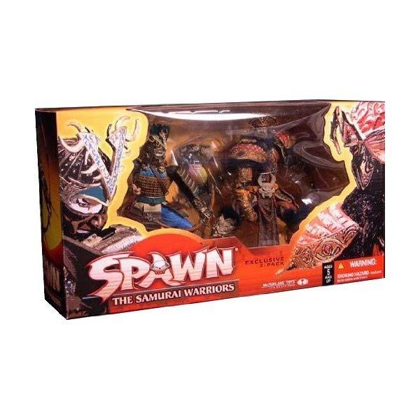 マクファーレントイズ スポーン アクションフィギュア ダイキャスト McFarlane Toys Spawn The Samurai Warriors Exclusive 2-Pack Boxed Set