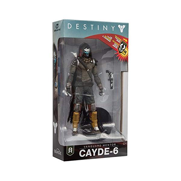 マクファーレントイズ スポーン アクションフィギュア ダイキャスト Toys Destiny 2 Cayde 6 Collectible Action Figure