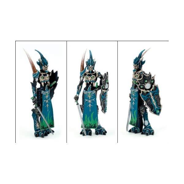 """マクファーレントイズ スポーン アクションフィギュア ダイキャスト McFarlane Toys Series 1 Spawn 3"""" Mini Trading Figure: Mandarin Spawn (Blue/Green Variant)"""