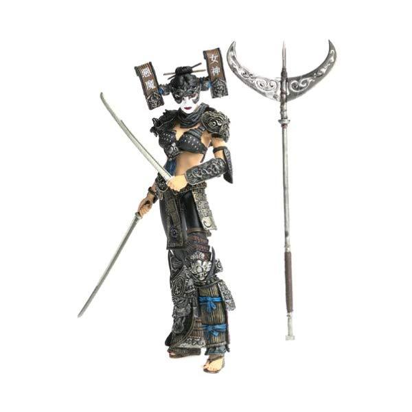 マクファーレントイズ スポーン アクションフィギュア ダイキャスト Spawn Series 19: Dark Ages Lotus Angel Warrior