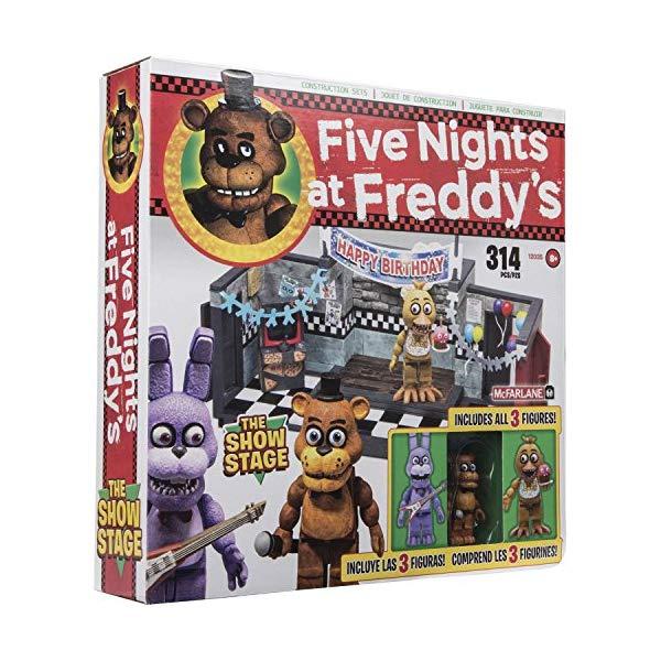 マクファーレン トイズ ファイブナイツ アット フレディーズ フィギュア 人形 ダイキャスト McFarlane Five Nights at Freddys The Show Stage Construction Set