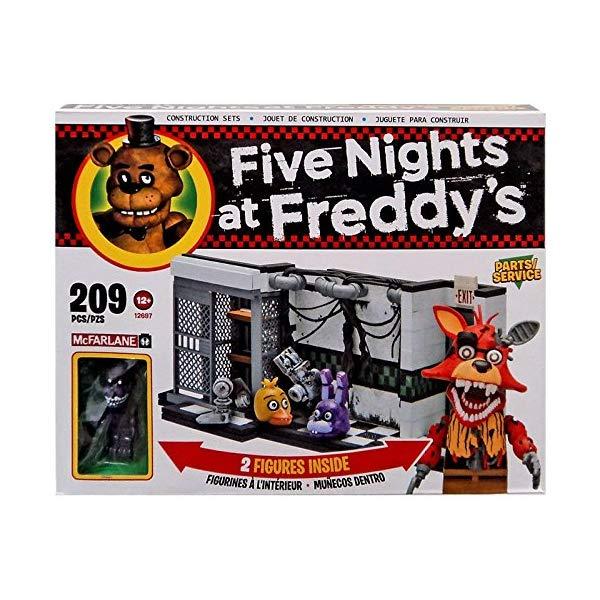 マクファーレン トイズ ファイブナイツ アット フレディーズ フィギュア 人形 ダイキャスト McFarlane Five Nights at Freddy's Parts/Service Exclusive 209 piece building set
