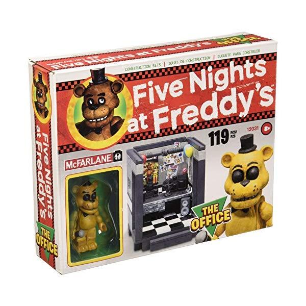 マクファーレン トイズ ファイブナイツ アット フレディーズ フィギュア 人形 ダイキャスト McFarlane Five Nights at Freddy's The Office Construction Set
