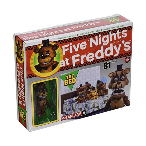 マクファーレン トイズ ファイブナイツ アット フレディーズ フィギュア 人形 ダイキャスト McFarlane Toys Five Nights At Freddy's The Bed Construction Set