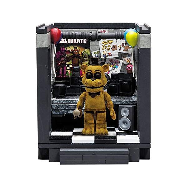マクファーレン トイズ ファイブナイツ アット フレディーズ フィギュア 人形 ダイキャスト McFarlane Toys Five Nights At Freddy's The Office 'Classic Series' Small Construction Set