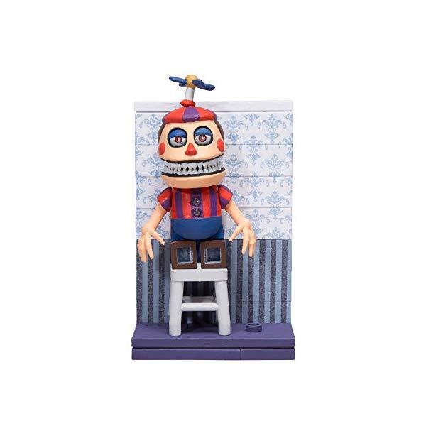 マクファーレン トイズ ファイブナイツ アット フレディーズ フィギュア 人形 ダイキャスト McFarlane Toys Five Nights At Freddy's Micro Fun with Balloon Boy Construction Set