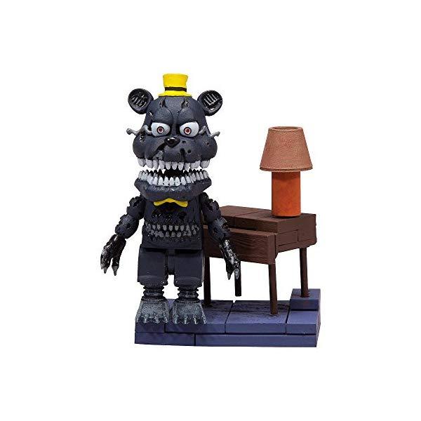 マクファーレン トイズ ファイブナイツ アット フレディーズ フィギュア 人形 ダイキャスト McFarlane Toys Five Nights At Freddy's Micro Right Hall Construction Set