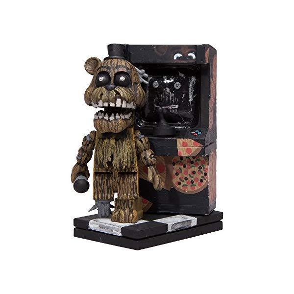 マクファーレン トイズ ファイブナイツ アット フレディーズ フィギュア 人形 ダイキャスト McFarlane Toys Five Nights At Freddy's Micro Arcade Cabinet Construction Set