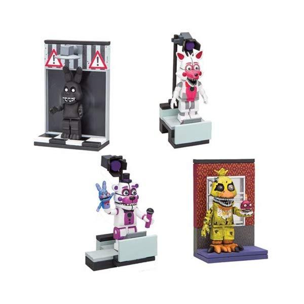 マクファーレン トイズ ファイブナイツ アット フレディーズ フィギュア 人形 ダイキャスト Five Nights at Freddy's Micro Construction Set Series 2