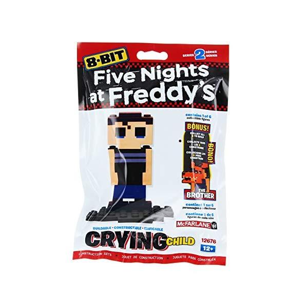 マクファーレン トイズ ファイブナイツ アット フレディーズ フィギュア 人形 ダイキャスト McFarlane Toys 12676-1 Five Nights At Freddy's 8-Bit Buildable Figures Building Kit