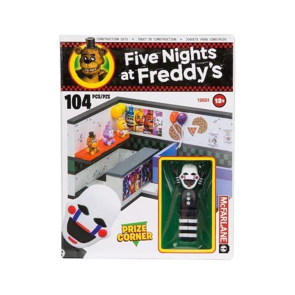 マクファーレン トイズ ファイブナイツ アット フレディーズ フィギュア 人形 ダイキャスト McFarlane Five Nights at Freddy's Series 2 Small Construction Set - PRIZE CORNER - 104 Pcs