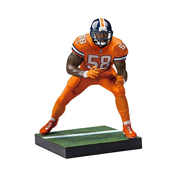 マクファーレン トイズ NFL アメフト アクション フィギュア ダイキャスト McFarlane Toys EA Sports Madden NFL 18 Ultimate Team Series 1 Von Miller Denver Broncos Action Figure