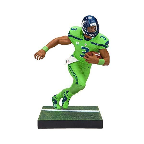 マクファーレン Seattle トイズ NFL アメフト アクション フィギュア ダイキャスト 1 McFarlane Toys Toys EA Sports Madden NFL 18 Ultimate Team Series 1 Russell Wilson Seattle Seahawks Action Figure, マルチカラー:eefadb5c --- sunward.msk.ru