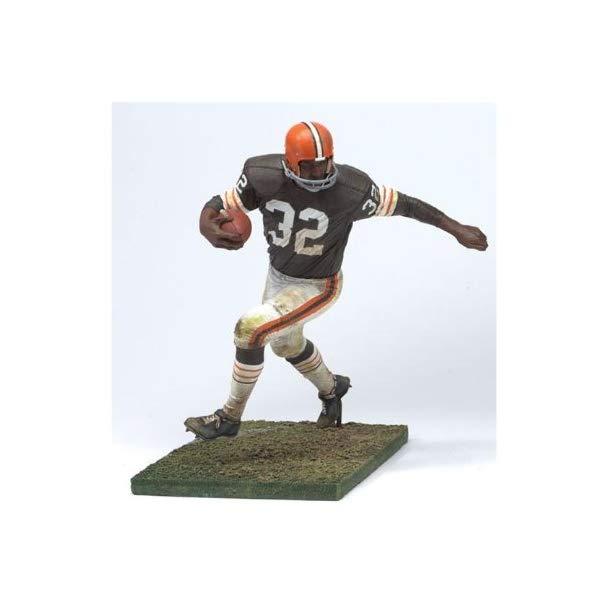 """マクファーレン トイズ NFL アメフト アクション フィギュア ダイキャスト McFarlane Toys 6"""" NFL Legends Series 2 - Jim Brown"""