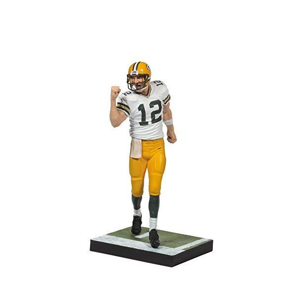 マクファーレン トイズ NFL アメフト アクション フィギュア ダイキャスト McFarlane Toys NFL Series 34 Aaron Rodgers Action Figure