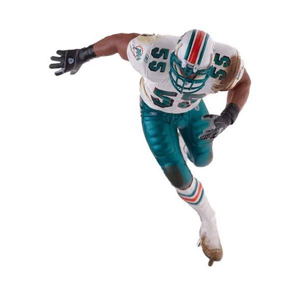 マクファーレン トイズ NFL アメフト アクション フィギュア ダイキャスト McFarlane Toys NFL Sports Picks Series 9 Action Figure Junior Seau (Miami Dolphins) Variant