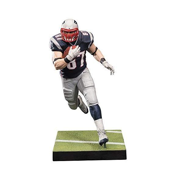 マクファーレン トイズ NFL アメフト アクション フィギュア ダイキャスト McFarlane Toys NFL Series 36 Rob Gronkowski New England Patriots Action Figure