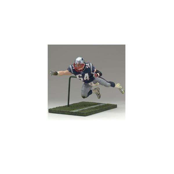 """マクファーレン トイズ NFL アメフト アクション フィギュア ダイキャスト McFarlane Toys 6"""" NFL Series 13 - Tedy Bruschi"""