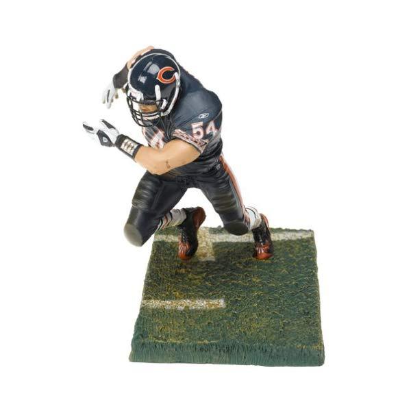 マクファーレン トイズ NFL アメフト アクション フィギュア ダイキャスト McFarlane Toys NFL Sports Picks Series 9 Action Figure Brian Urlacher (Chicago Bears) Blue Jersey Blue Pants Variant by Unknown
