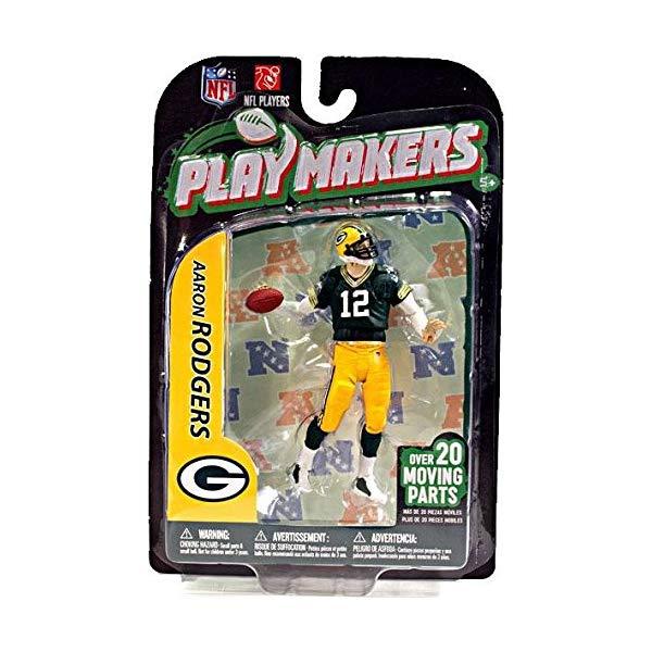 マクファーレン トイズ NFL アメフト アクション フィギュア ダイキャスト McFarlane NFL Green Bay Packers 2012 Playmakers Series 3 Aaron Rodgers Action Figure