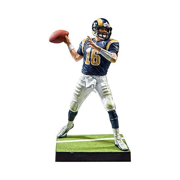 マクファーレン トイズ NFL アメフト アクション フィギュア ダイキャスト McFarlane Toys EA Sports Madden NFL 17 Ultimate Team Series 3 Jared Goff Figure