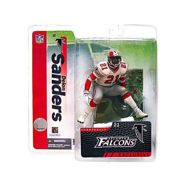 マクファーレン トイズ NFL アメフト アクション フィギュア ダイキャスト McFarlane Toys NFL Sports Picks 2006 Collectors Club Exclusive Action Figure Deion Sanders (Atlanta Falcons) White Jersey
