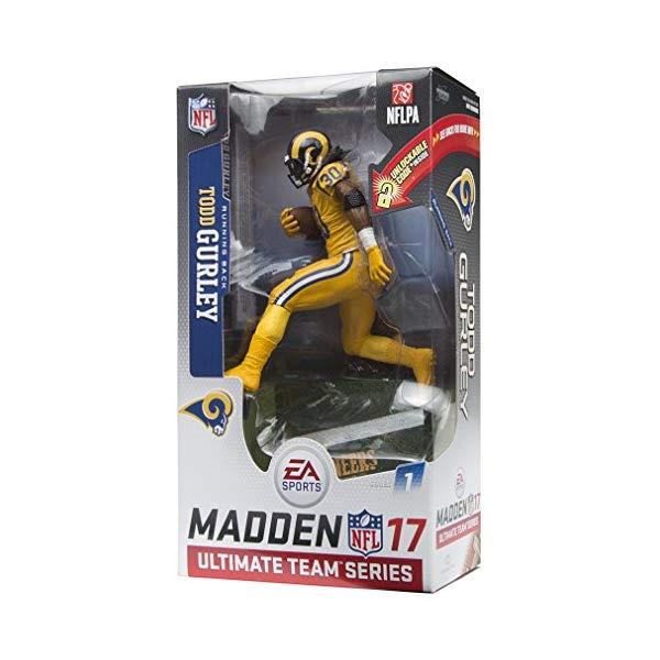 マクファーレン トイズ NFL アメフト アクション フィギュア ダイキャスト McFarlane Toys EA Sports Madden NFL 17 Ultimate Team Todd Gurley Los Angeles Rams Action Figure Color Rush Uniform Chase Variant