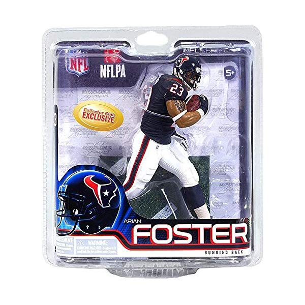 マクファーレン トイズ NFL アメフト アクション フィギュア ダイキャスト McFarlane ARIAN FOSTER collectors club Exclusive NFL 31 Rookie figure Houston Texans running back