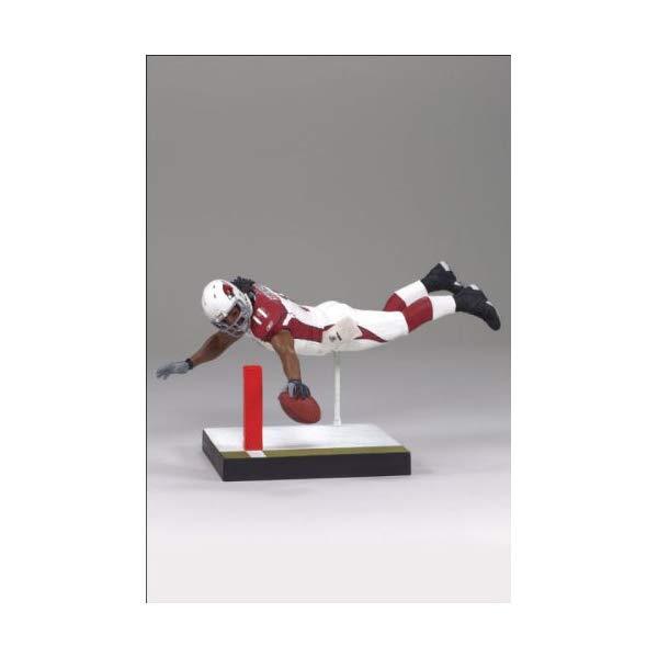 マクファーレン トイズ NFL アメフト アクション フィギュア ダイキャスト McFarlane Toys NFL Sports Picks Series 20 2009 Wave 1 Action Figure Larry Fitzgerald (Arizona Cardinals)
