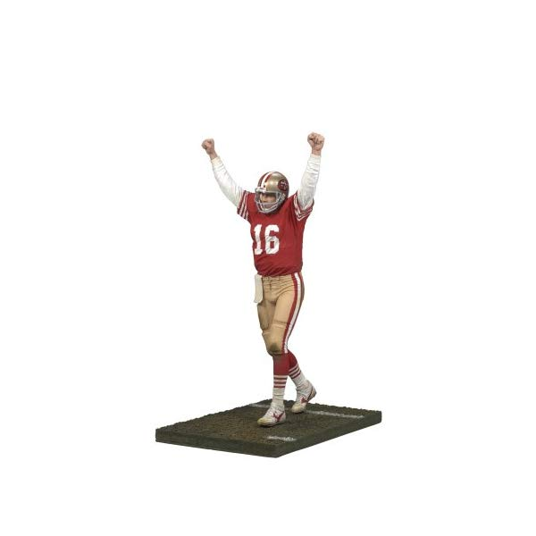 マクファーレン トイズ NFL アメフト アクション フィギュア ダイキャスト McFarlane Nfl Legends Series 4 - Joe Montana 2