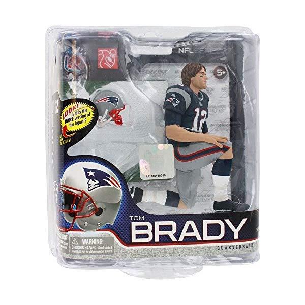 マクファーレン トイズ NFL アメフト アクション フィギュア ダイキャスト Series 27 Tom Brady 4 - New England Patriots 6 Inch Action Figure