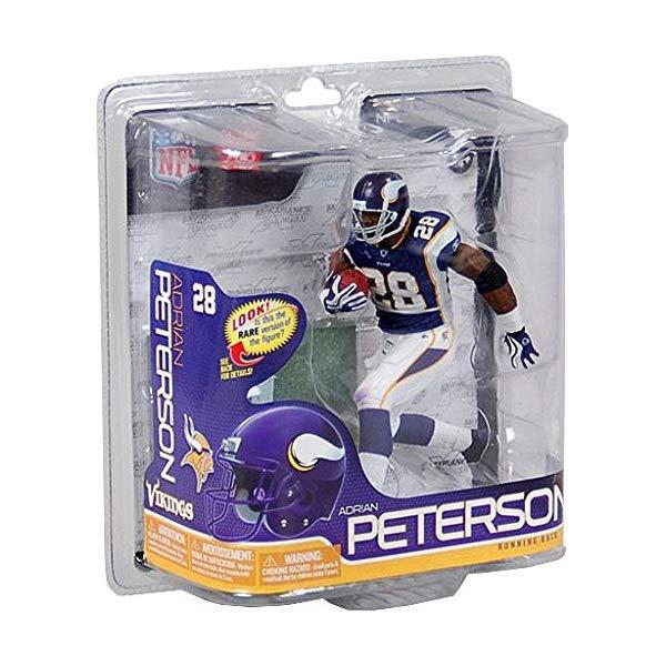 マクファーレン Peterson トイズ NFL Action アメフト アクション フィギュア Figure ダイキャスト McFarlane NFL Minnesota Vikings 2011 Series 26 Adrian Peterson Action Figure, 延寿庵:b2be3926 --- sunward.msk.ru