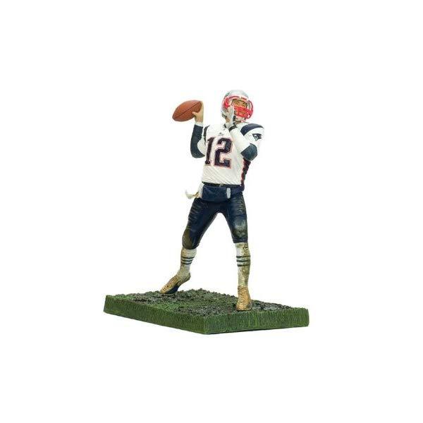 マクファーレン トイズ NFL アメフト アクション フィギュア ダイキャスト McFarlane Toys NFL 3 Inch Sports Picks Series 5 Mini Action Figure Tom Brady 2 (New England Patriots)