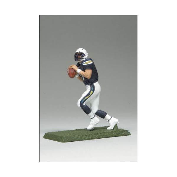 マクファーレン トイズ NFL アメフト アクション フィギュア ダイキャスト McFarlane Toys NFL 3 Inch Sports Picks Series 7 Mini Action Figure Phillip Rivers (San Diego Chargers)