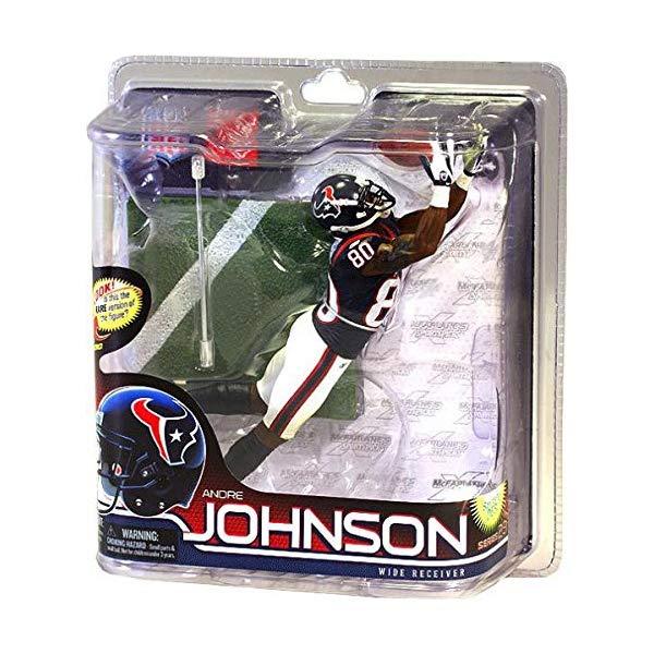 マクファーレン トイズ NFL アメフト アクション フィギュア ダイキャスト McFarlane Toys NFL Sports Picks Series 28 Action Figure Andre Johnson (Houston Texans) Blue Jersey Bronze Collector Level Chase