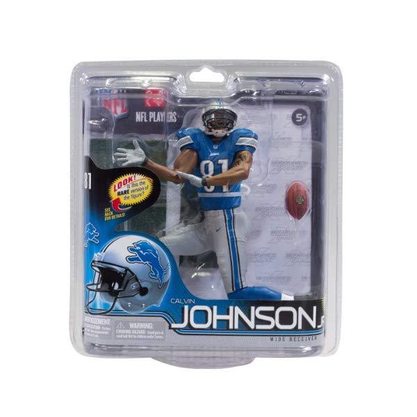 マクファーレン トイズ NFL アメフト アクション フィギュア ダイキャスト McFarlane Toys NFL Series 30 - Calvin Johnson Action Figure