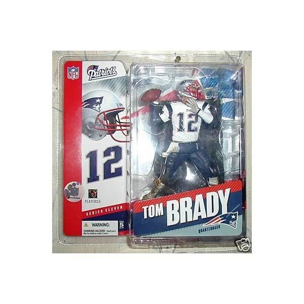 マクファーレン トイズ NFL アメフト アクション フィギュア ダイキャスト McFarlane Toys NFL Sports Picks Series 11 Action Figure Tom Brady (New England Patriots) White Jersey Variant